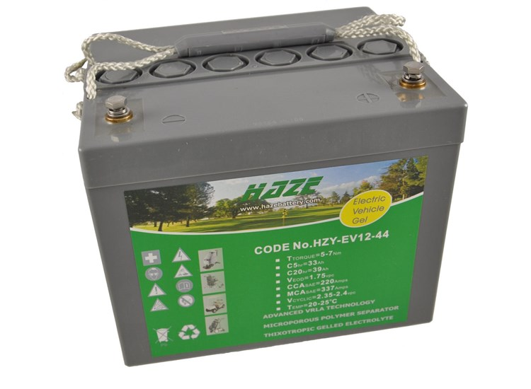 Haze 12V 45ah Gel Mobility Battery