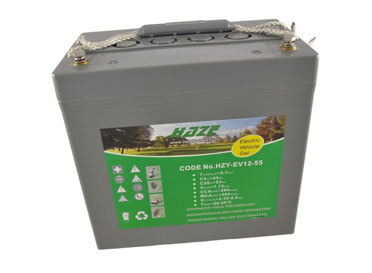 Haze 12V 52ah Gel Mobility Battery