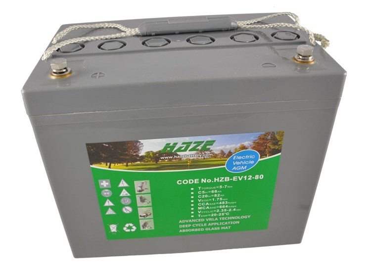 Haze 12V 88ah Gel Mobility Battery