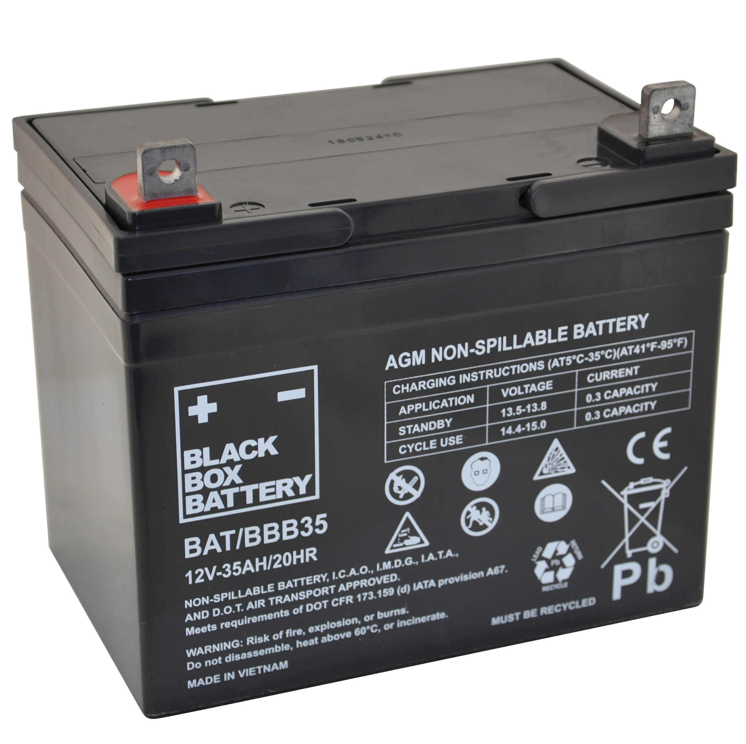 12V 35ah Deep Cycle Mobility Battery