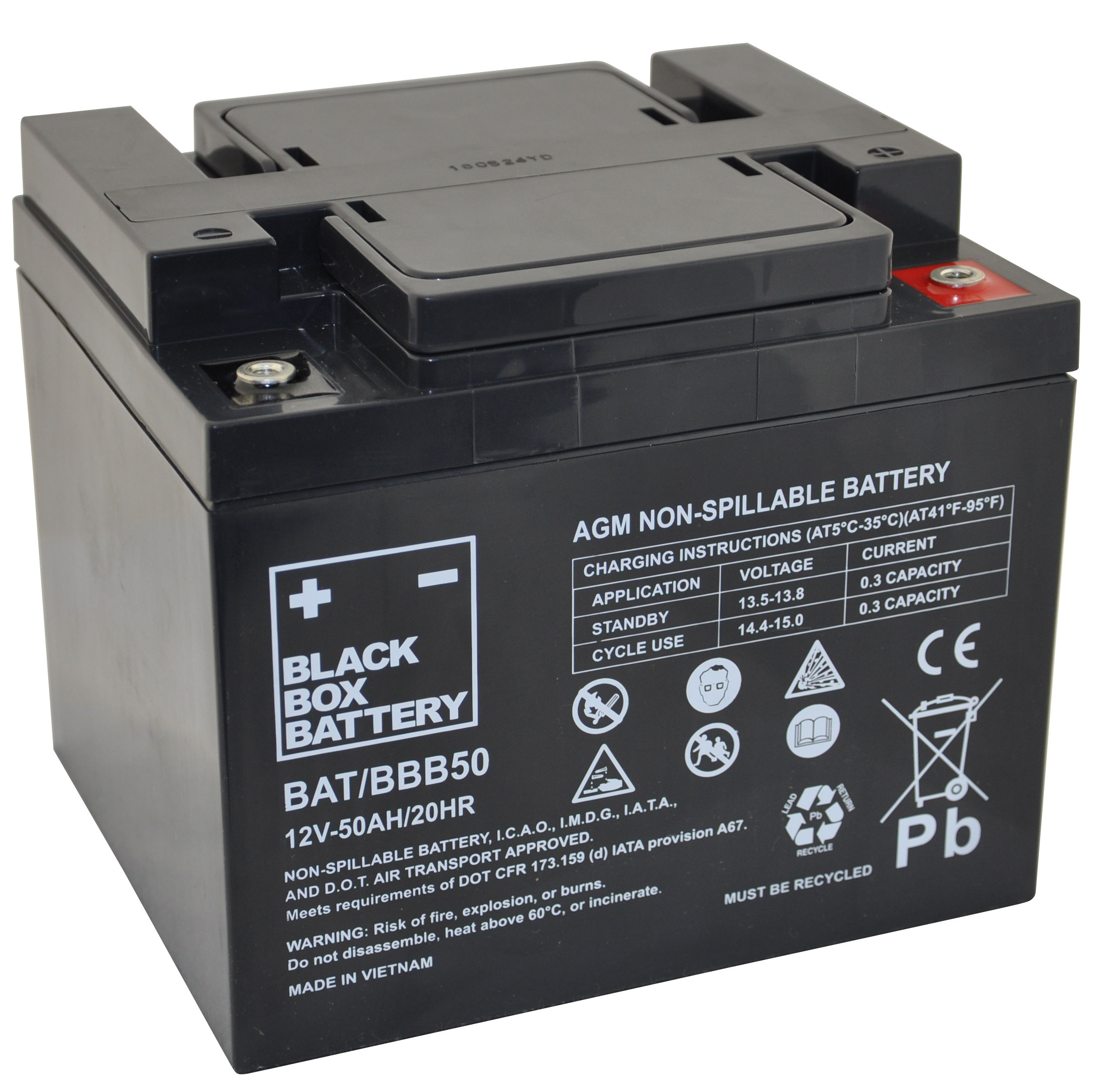 12V 50ah Deep Cycle Mobility Battery