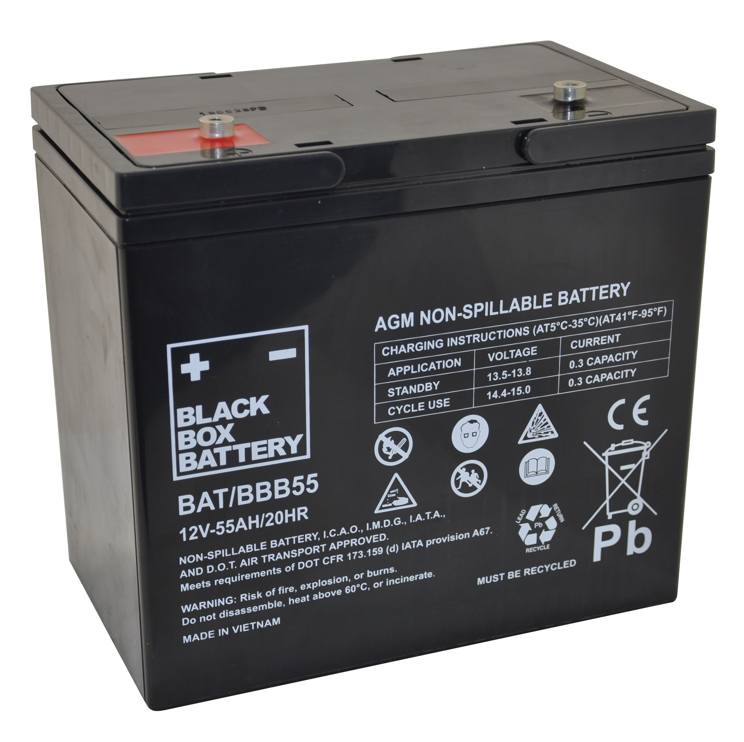 12V 55ah Deep Cycle Mobility Battery