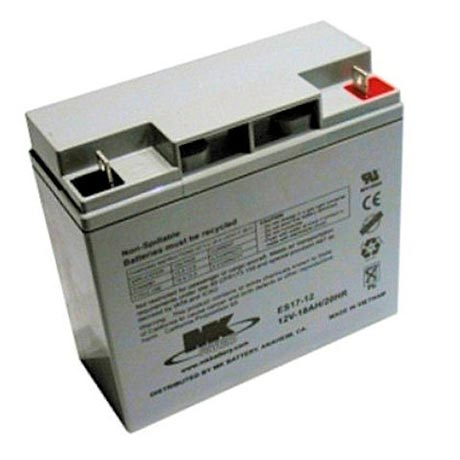 MK 12V 18ah AGM Mobility Battery