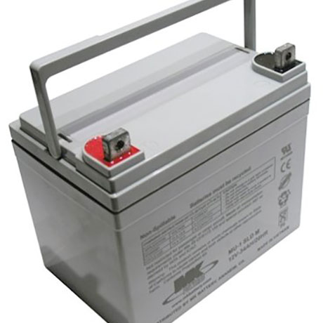 MK 12V 35ah AGM Mobility Battery
