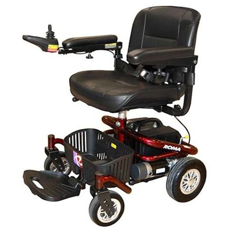 The Roma Reno II Powerchair with a standard seat
